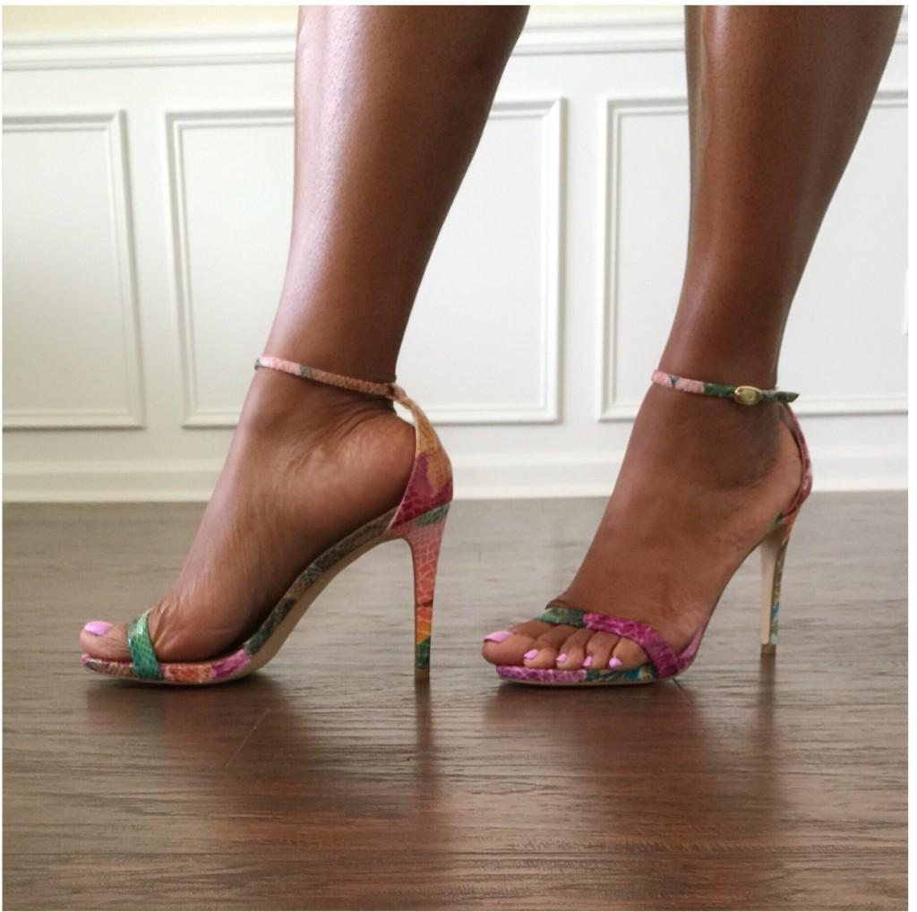Blogger Style:  A Sexy Ankle Strap Sandal!