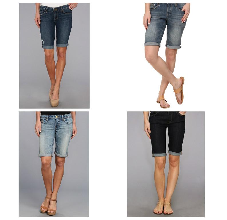 Two Ways To Wear Your Denim Bermuda Shorts!