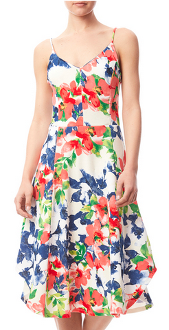 Multicolor Spring Floral Dress $45.99 |BUY HERE|