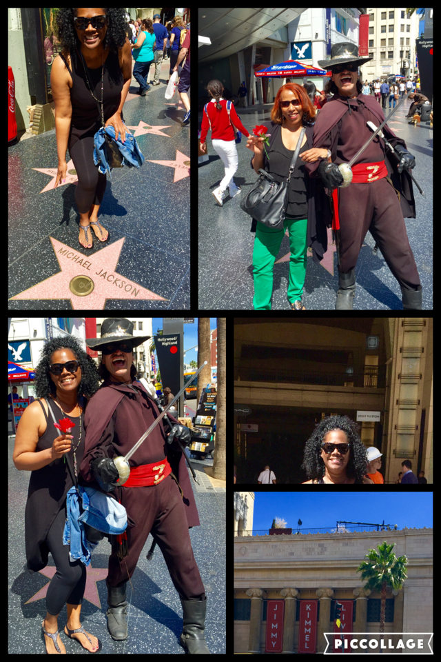Visiting Hollywood Boulevard! The hustle is real in Hollywood!
