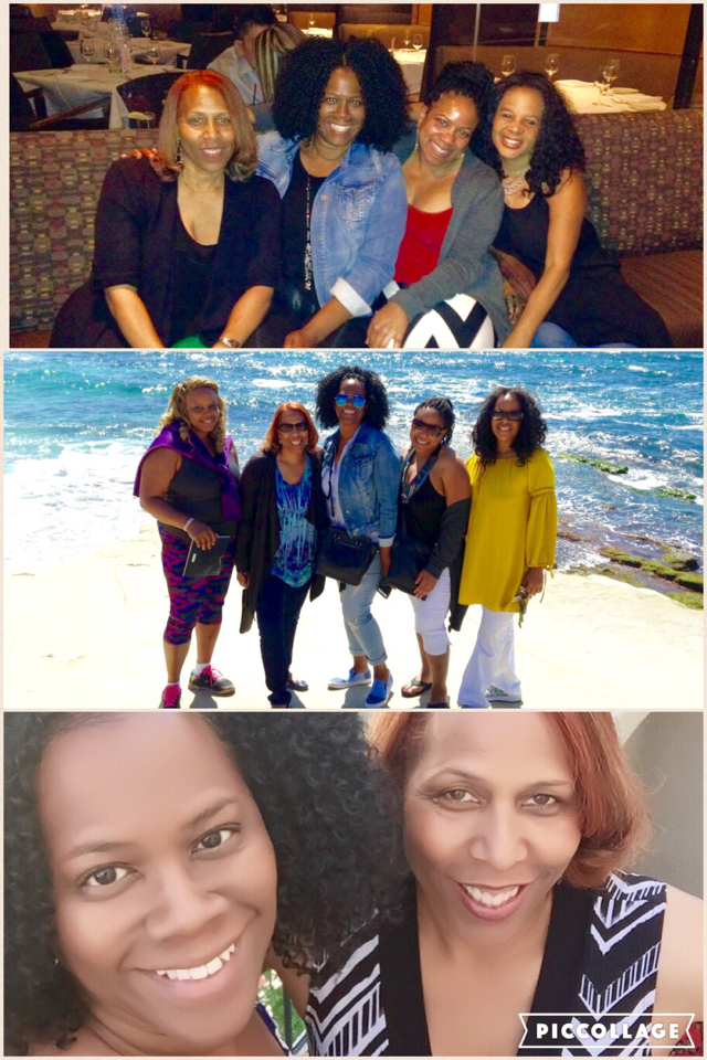 Good friends are forever!  Having fun with my friends Laura Lett, Tanya Hunt, Ladonna Cox, and Lisa Smith. A BIG thank you to Lisa for showing us a great time.