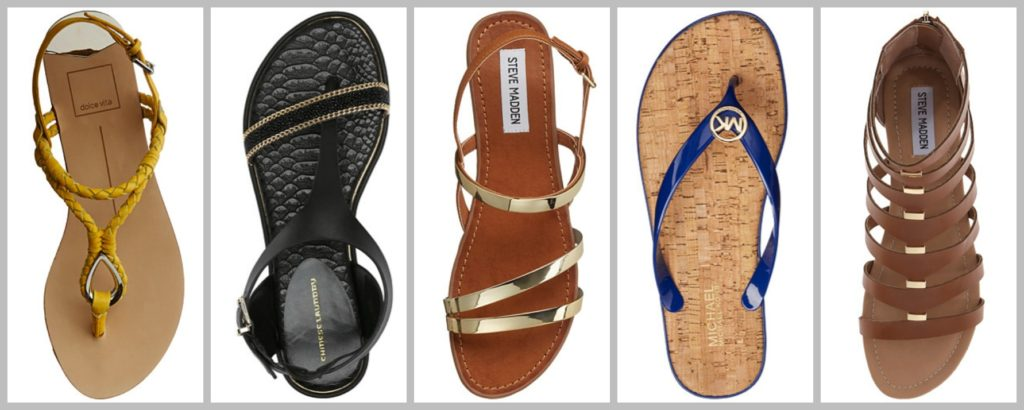 Shop Summer Sandals: Extra 10% off coupon! Happy Sun-Yay!‏