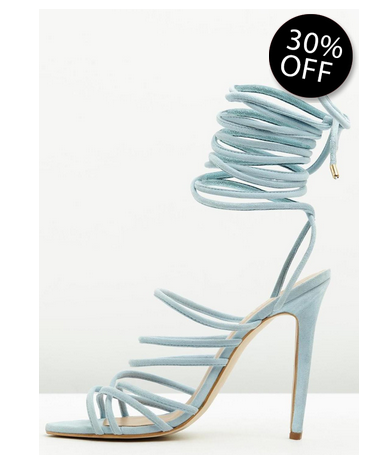 Multistrap Lace-Up Sandal  BUY HERE 