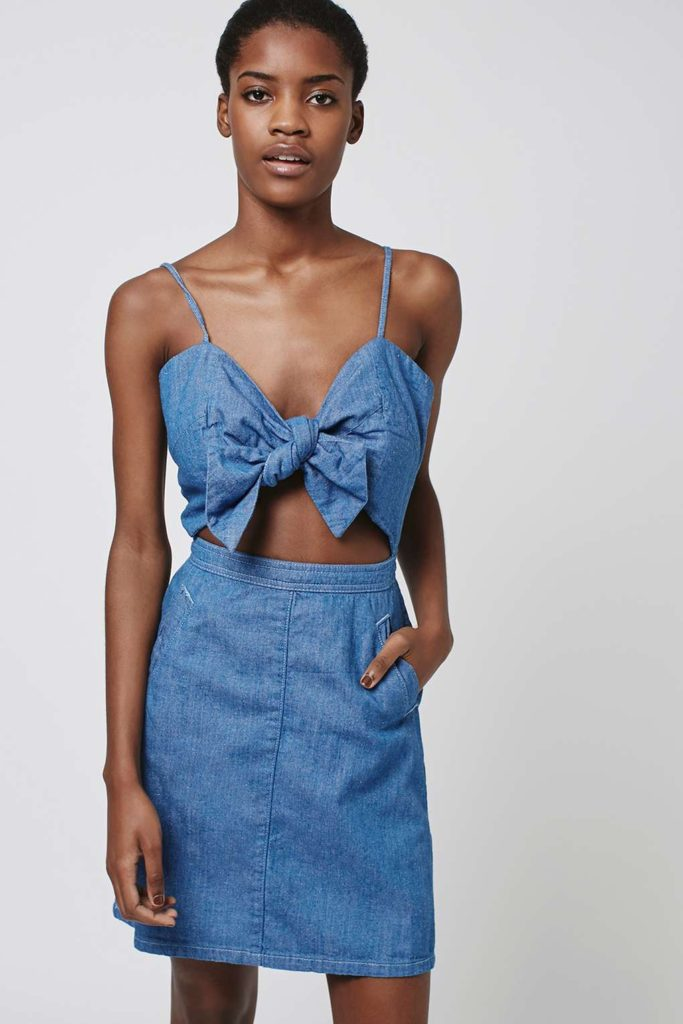 The Daily Find : TOPSHOP Blue Dress