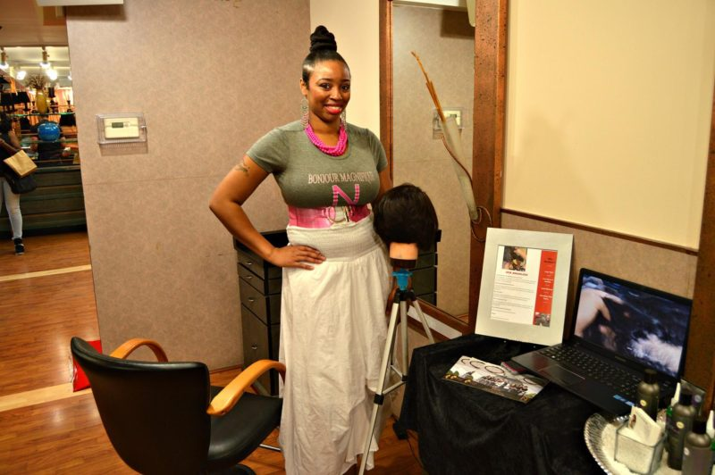 Say hello to Shan! Checkout her website! www.TheShantasticHairLife.com