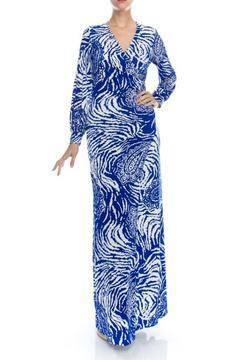The Daily Find: Wrap Maxi Dress
