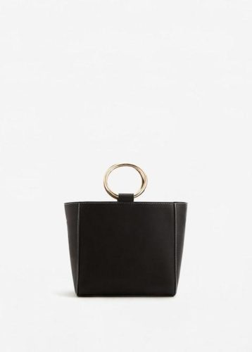 Lust Vs Must: Metallic Handle Handbag