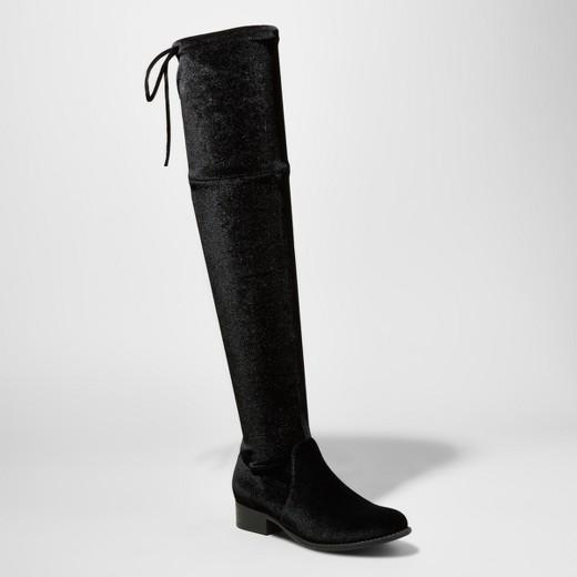 The Daily Find: Velvet Over The Knee Boots