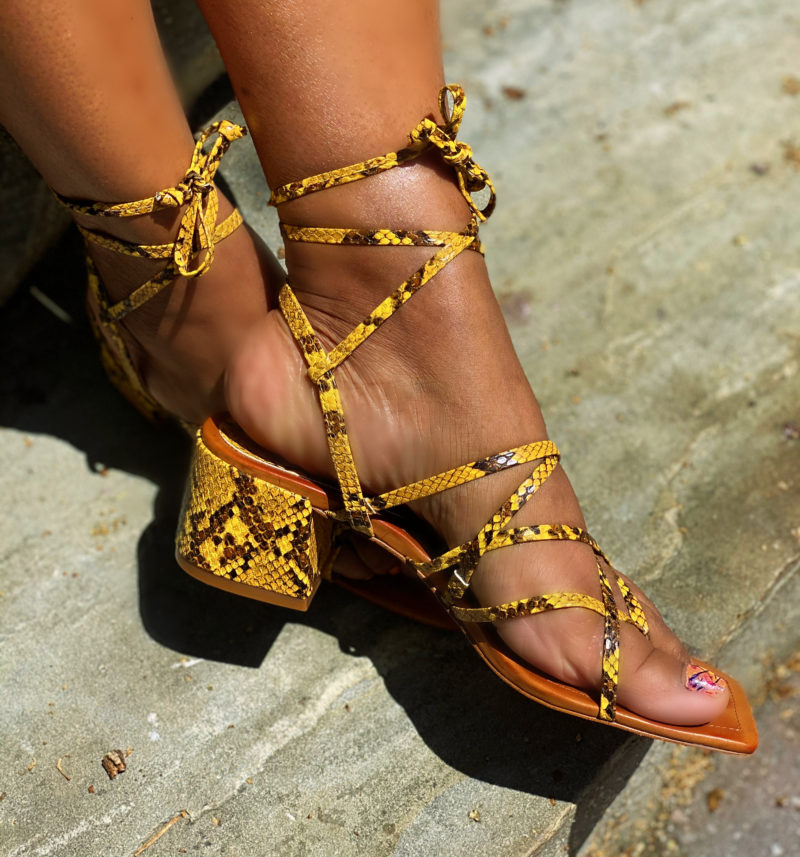 Shoe Lover: The Snake Print Edition