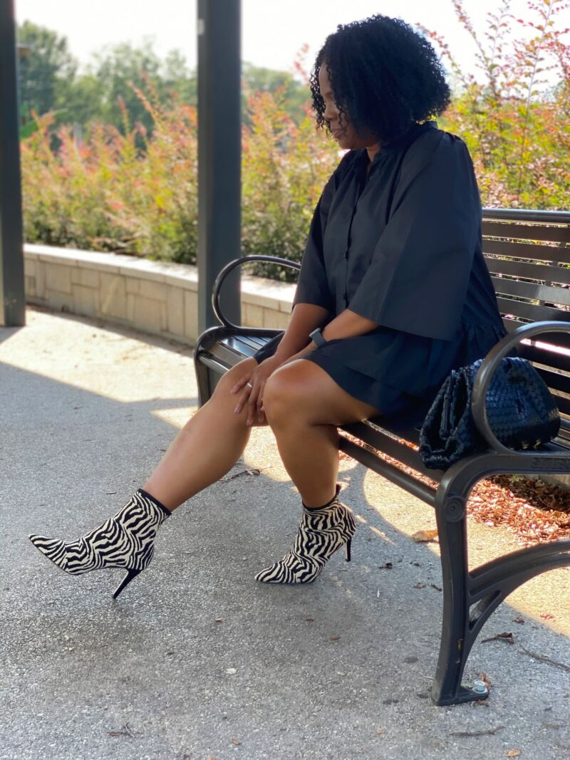 Fall Style: One Dress 4 Boot Styles.