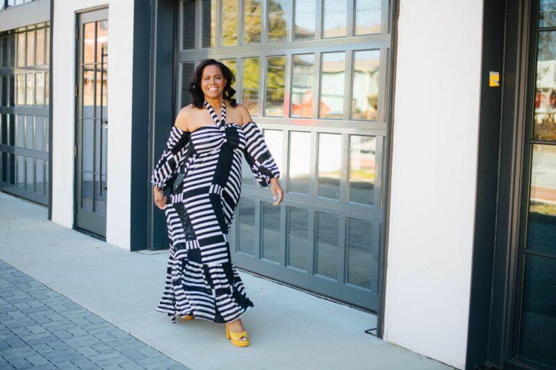 Spring Forward In A Maxi Dress